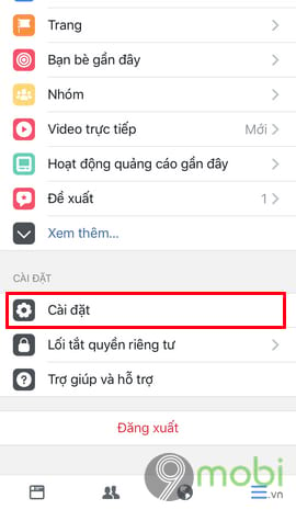 bat tat thong bao sinh nhat minh tren facebook tu dien thoai 3