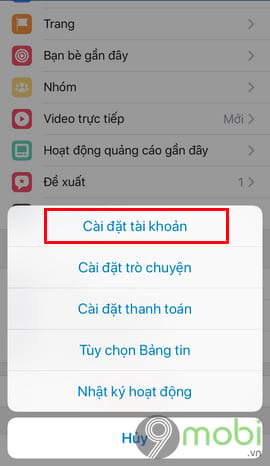 bat tat thong bao sinh nhat minh tren facebook tu dien thoai 4