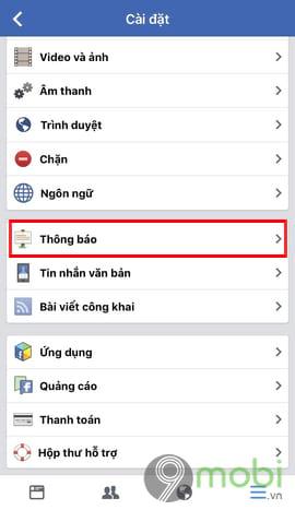 bat tat thong bao sinh nhat minh tren facebook tu dien thoai 5