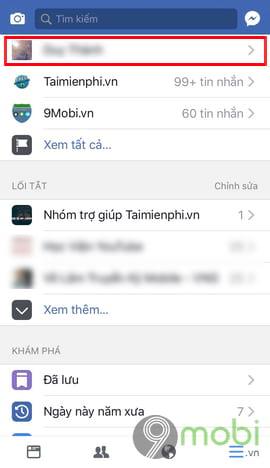 cach an nam sinh facebook tren dien thoai 2