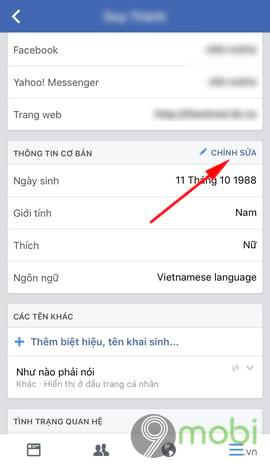 cach an nam sinh facebook tren dien thoai 5