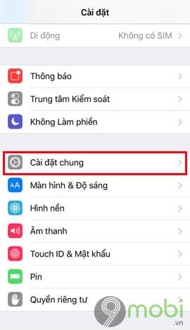 cach chuyen facebook sang tieng anh tren dien thoai 6