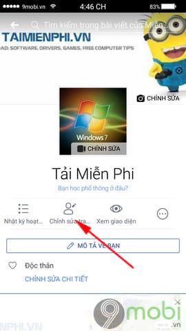 cach doi ngay sinh facebook tren dien thoai 4