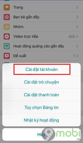 cach hien thong bao sinh nhat facebook tren dien thoai 3