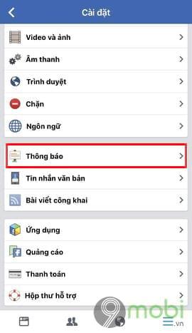 cach hien thong bao sinh nhat facebook tren dien thoai 4