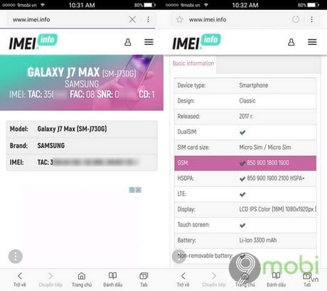 check so imei tren android