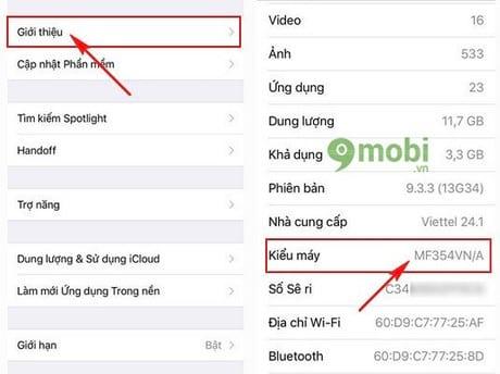 check iphone 5s chinh hang xach tay that nhai