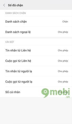 Cách chặn tin nhắn rác, SMS trên Xiaomi Redmi Note 4