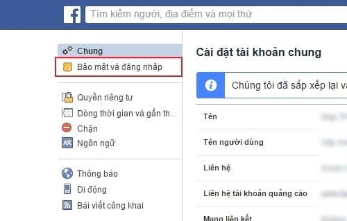 cach doi mat khau facebook tren may tinh 3