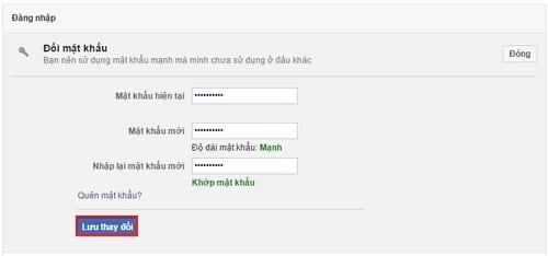 cach doi mat khau facebook tren may tinh 5