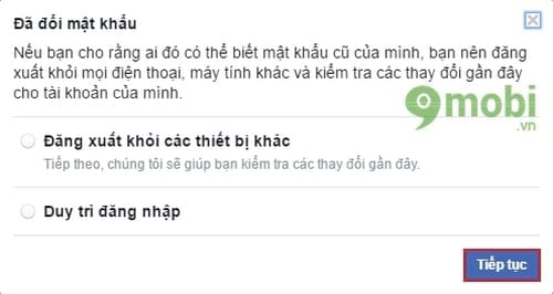 cach doi mat khau facebook tren may tinh 6