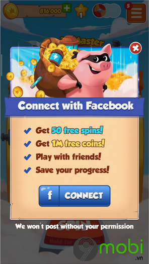 cach nhan vong quay mien phi game coin master