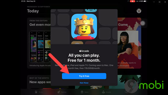 cach dang ky apple arcade game choi game mien phi 1 thang ren iphone ipad 7