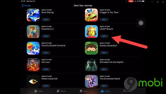 cach dang ky apple arcade game choi game mien phi 1 thang ren iphone ipad 10