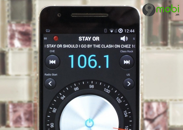 cach nghe radio tren android
