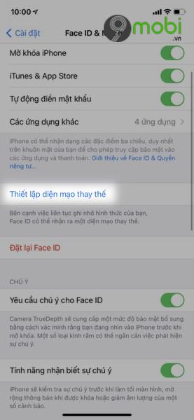 sua loi ios 14 4 khong nhan face id