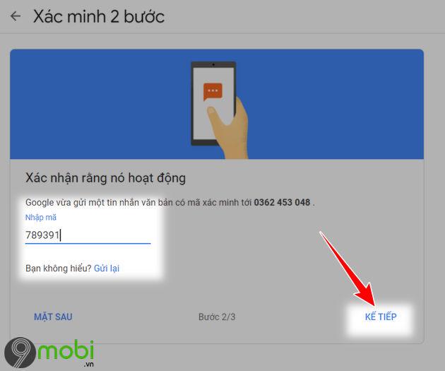 kich hoat bao mat 2 lop cho gmail