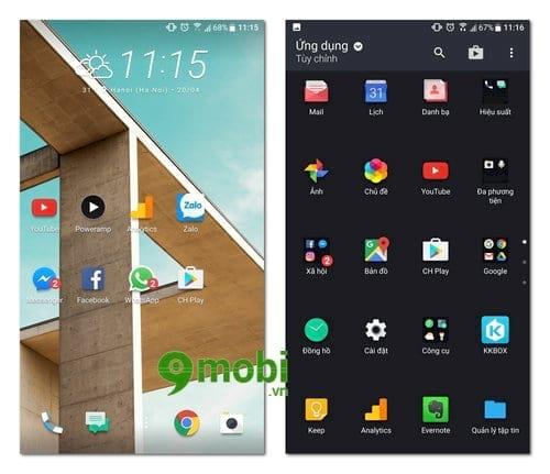 Cách thay đổi độ phân giải hiển thị trên HTC 10