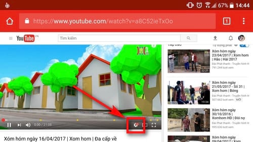 cach chinh toc do video youtube nhanh cham tren android 3