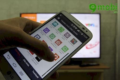Hướng dẫn chuyển hình ảnh từ iPhone lên tivi LG, kết nối