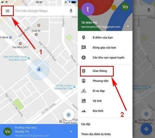 meo tranh tac duong gio cao diem bang google maps 3