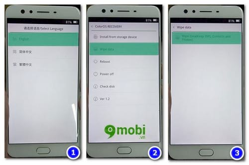 cach reset cung oppo f3 hard reset oppo f3 3