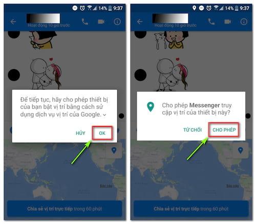 cach chia se vi tri khi chat trong facebook messenger 3