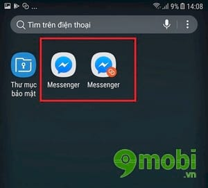 cach su dung 2 tai khoan facebook messenger tren samsung j7 pro 5