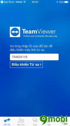 su dung teamviewer quicksupport truy cap ket noi iphone ipad tu xa 3