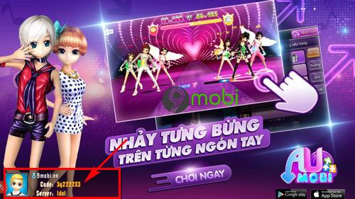 code au mobile vng 8