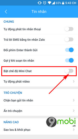 bat mini chat tren zalo 5