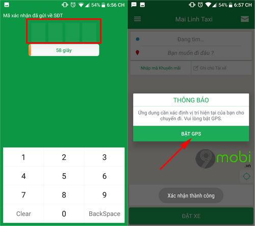 Cách đặt xe Taxi Mai Linh trên điện thoại Android, iPhone