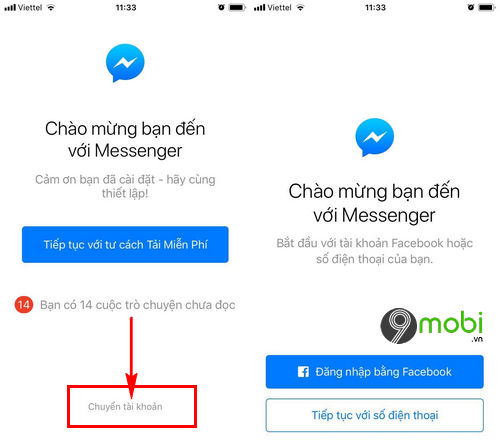 cach dang xuat facebook messenger tren iphone 6 6 plus 6s 6s plus 6
