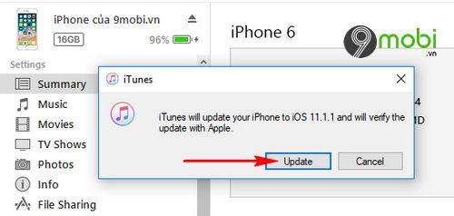 cach nang cap ios 11 1 1 qua ota itunes cho iphone ipad 8