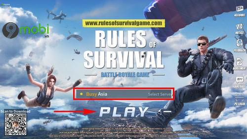 cach cai va choi rules of survival tren dien thoai 6