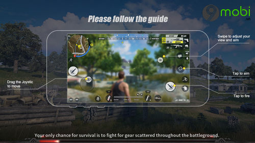 cach cai va choi rules of survival tren dien thoai 10