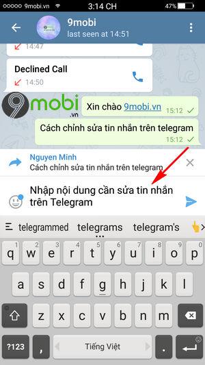huong dan chinh sua tin nhan da gui tren telegram 5