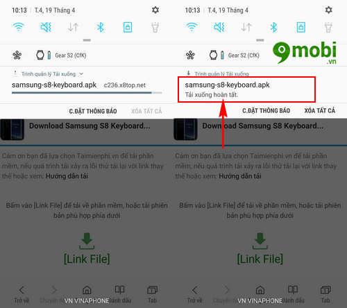 Cách đưa bàn phím Samsung S8 lên các thiết bị Android khác