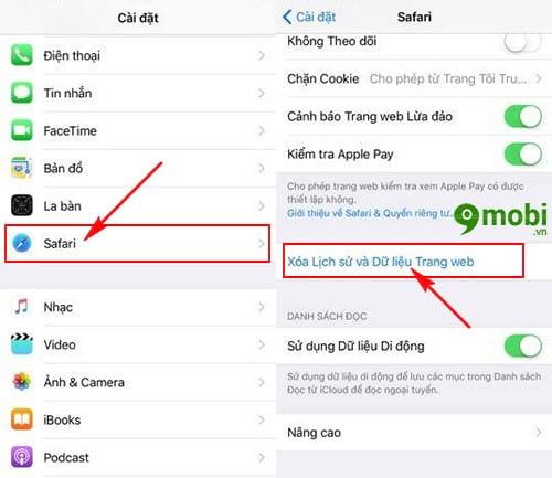 cach sua loi khong xem duoc video tren safari cho iphone 3