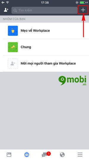 cach tao nhom tren facebook workplace tao group 3