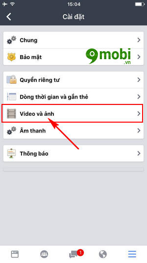 cach tat tu dong phat video trong facebook workplace 5