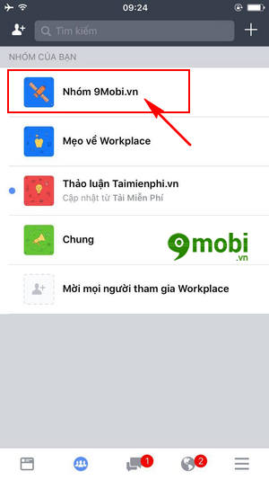cach thay anh bia nhom tren facebook workplace 3