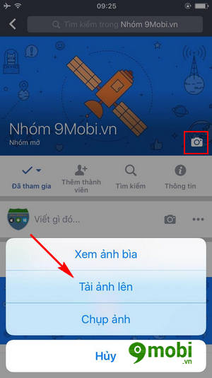 cach thay anh bia nhom tren facebook workplace 4