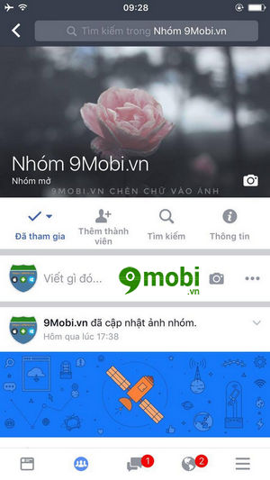 cach thay anh bia nhom tren facebook workplace 6