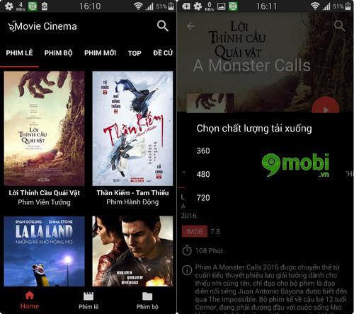 Top ứng dụng xem phim, TiVi trên Android TV Box