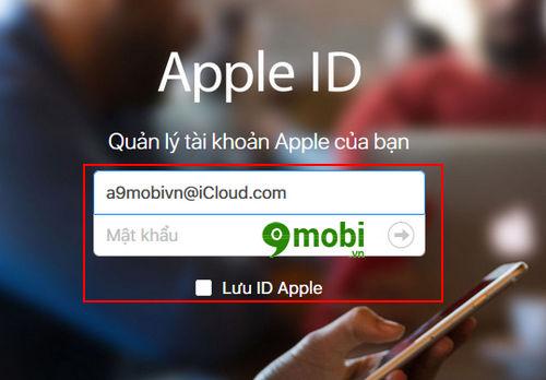 dang nhap id apple 7