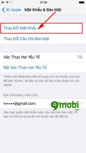 doi mat khau icloud 6