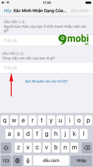 doi mat khau icloud 7