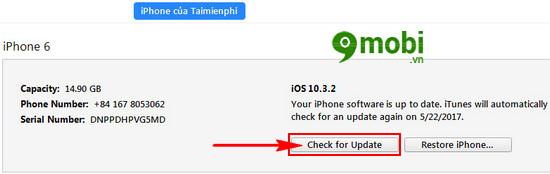 Cách hạ cấp iOS 10.3.2 xuống 10.3.1 cho iPhone, iPad, Downgrade iOS 10
