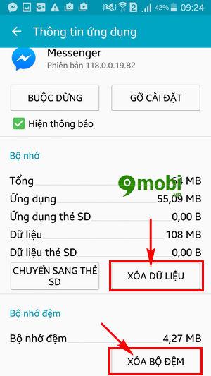 khac phuc loi vang ung dung facebook messenger tren android 5